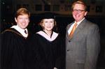 John Peyton, Carol Thompson and UNF President John Delaney
