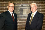 Presidents John Delaney and Thomas Carpenter, 2004