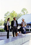 President Delaney Talking to UNF Students